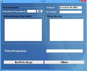 Cara buat aplikasi data penjualan menggunakan delphi 2010
